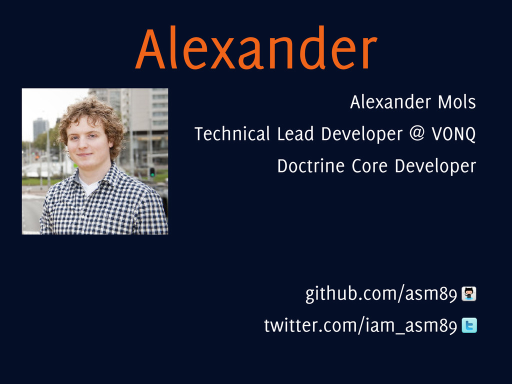 Alexander Alexander Mols Technical Lead Develop...