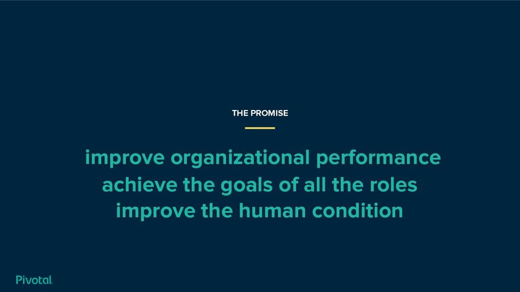 improve organizational performance achieve the ...