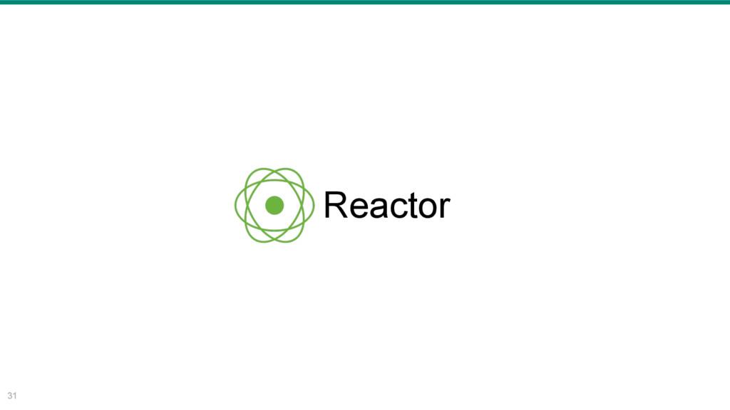 31 Reactor