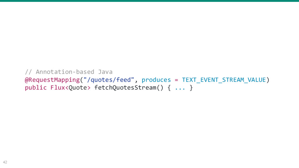 """42 // Annotation-based Java @RequestMapping(""""/q..."""