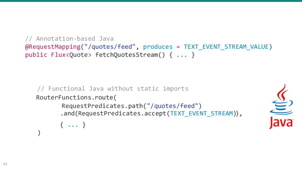 """43 // Annotation-based Java @RequestMapping(""""/q..."""