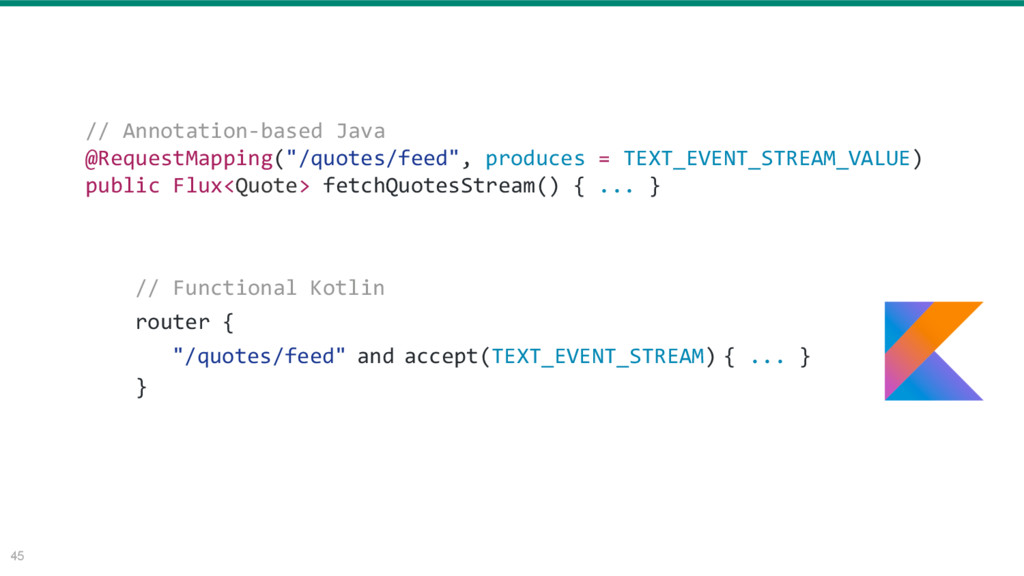 """45 // Annotation-based Java @RequestMapping(""""/q..."""