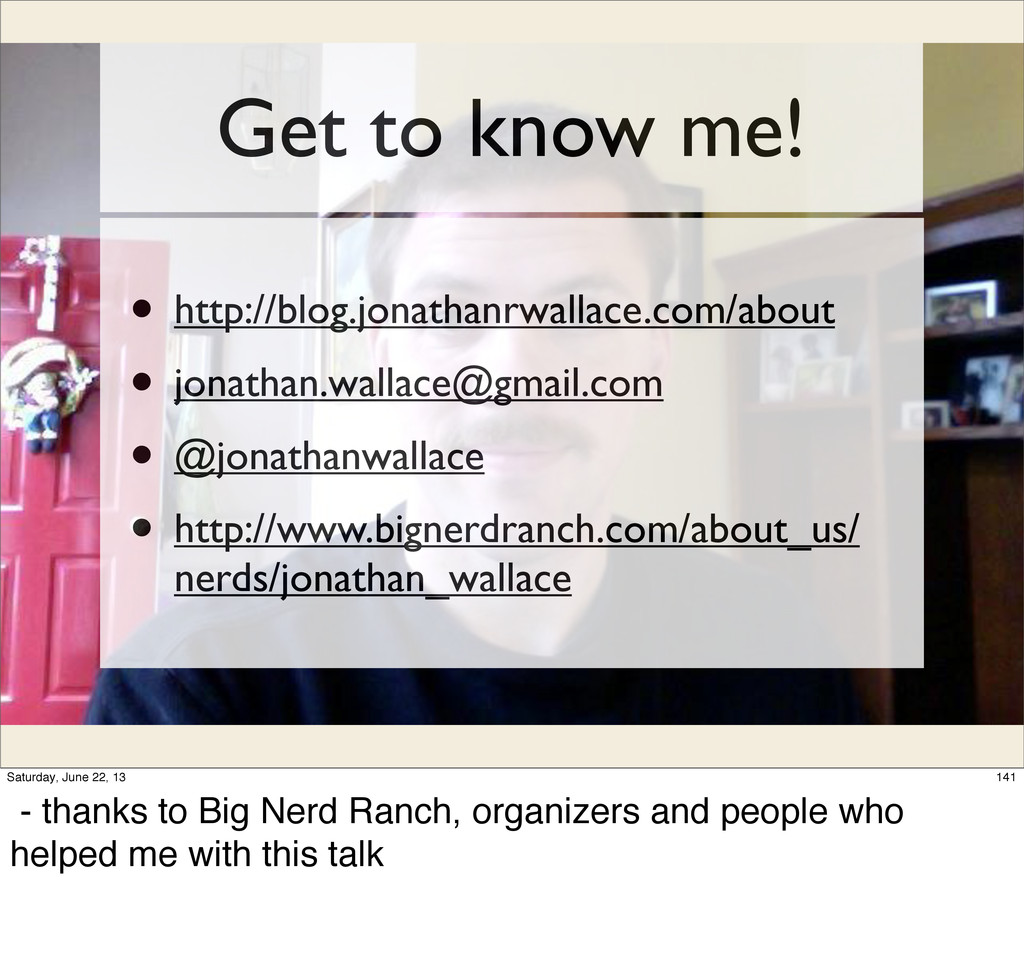 Get to know me! • http://blog.jonathanrwallace....