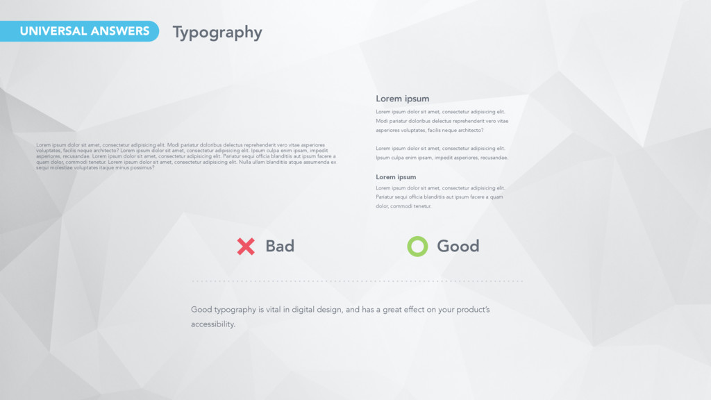 Good typography is vital in digital design, and...