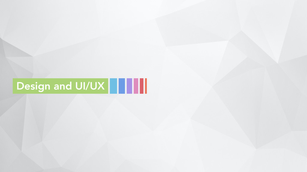 Design and UI/UX