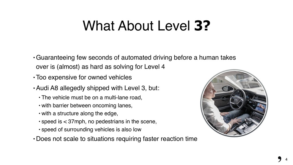 "4 What About Level 3? "" Guaranteeing few second..."