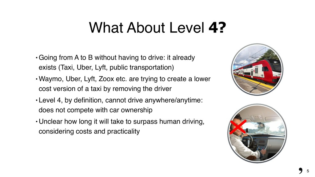 "5 What About Level 4? "" Going from A to B witho..."