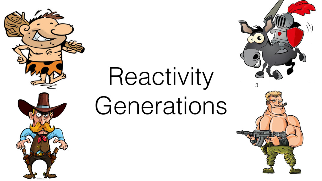 Reactivity Generations 3