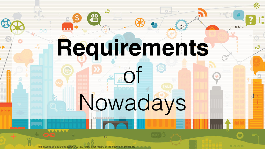 Requirements of Nowadays https://sites.psu.edu/...