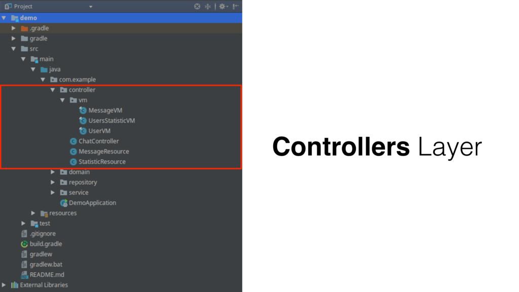Controllers Layer