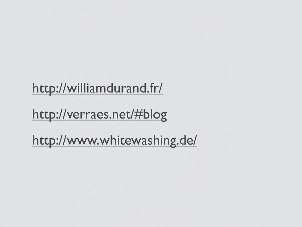 http://williamdurand.fr/ http://verraes.net/#bl...