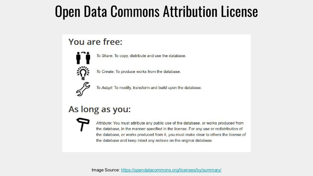 Open Data Commons Attribution License Image Sou...