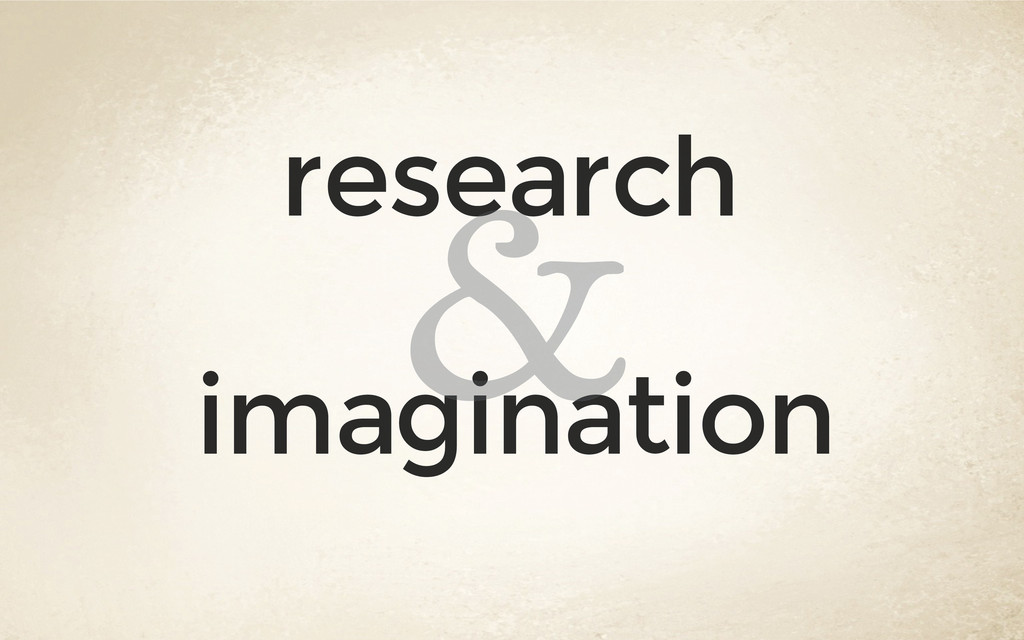 research imagination &