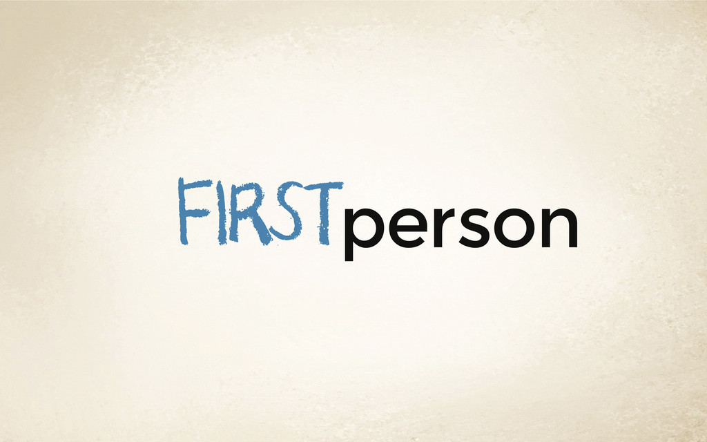 person first