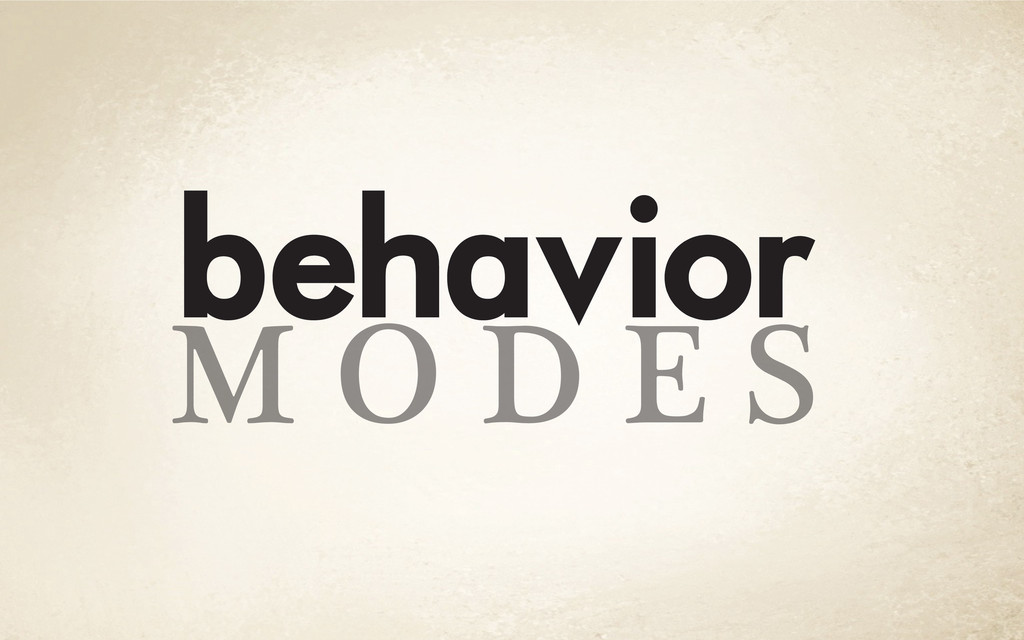 M O D E S behavior