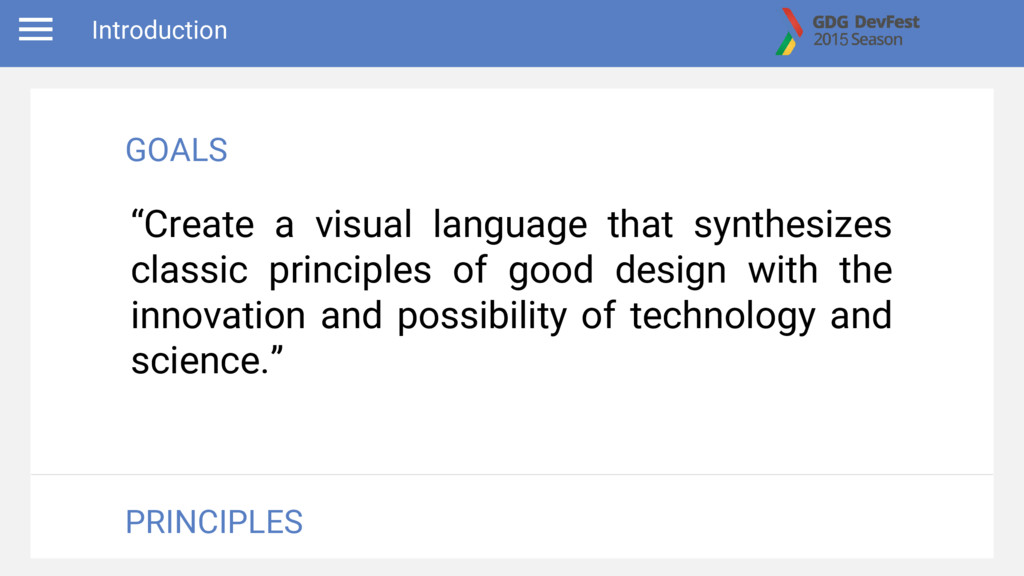"""Create a visual language that synthesizes clas..."