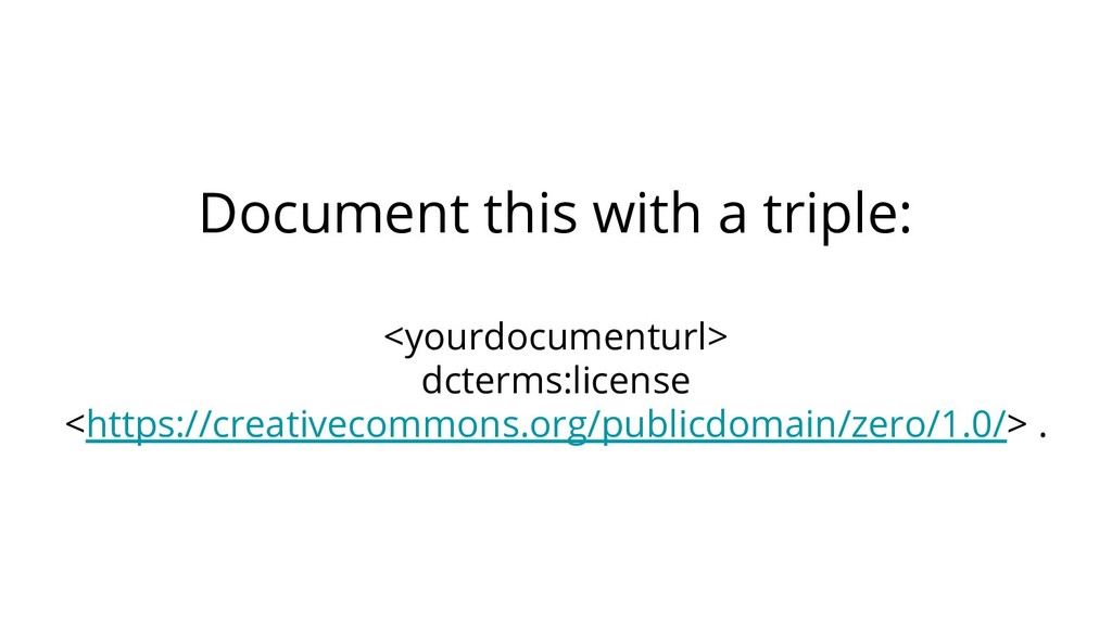 Document this with a triple: <yourdocumenturl> ...