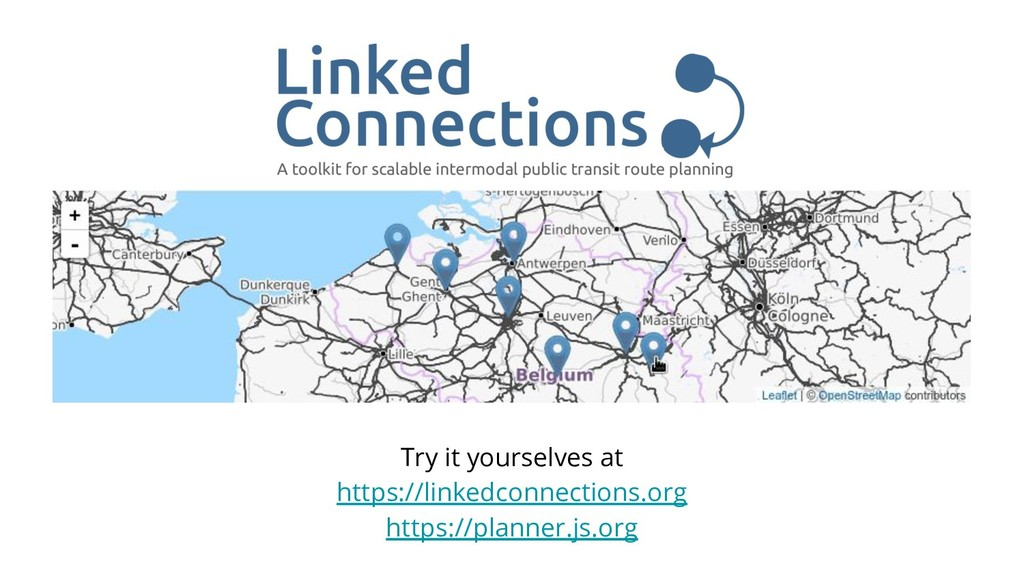 Try it yourselves at https://linkedconnections....