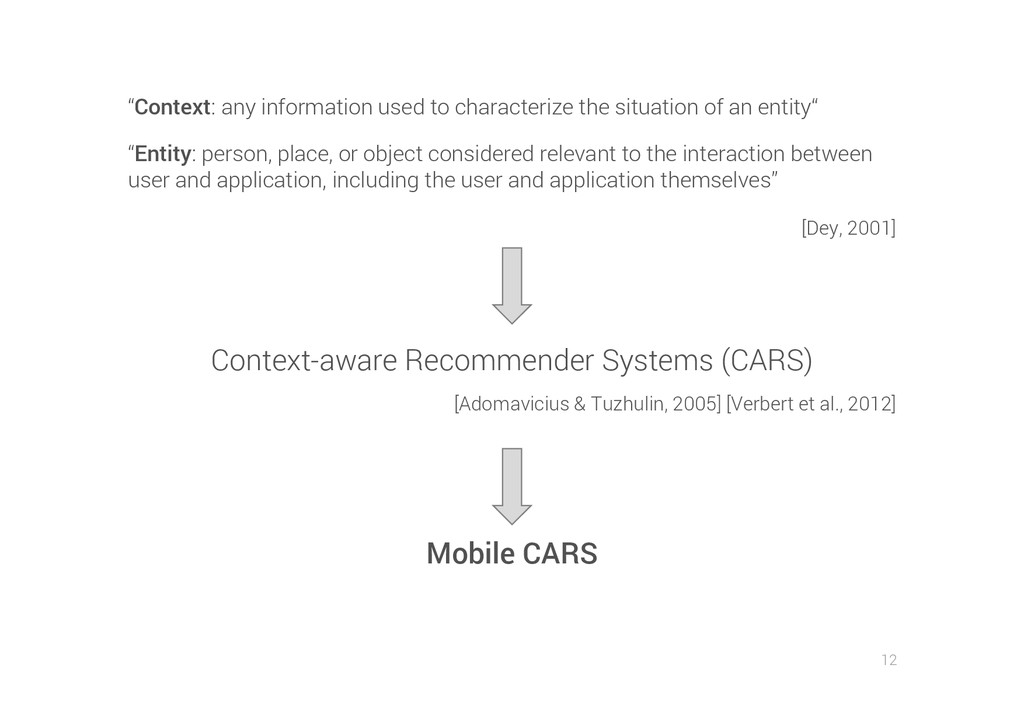 12 Context-aware Recommender Systems (CARS) [Ad...