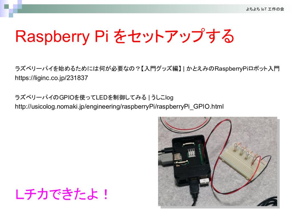 始 何 必要 入門 編 | RaspberryPi 入門 https://liginc.co....