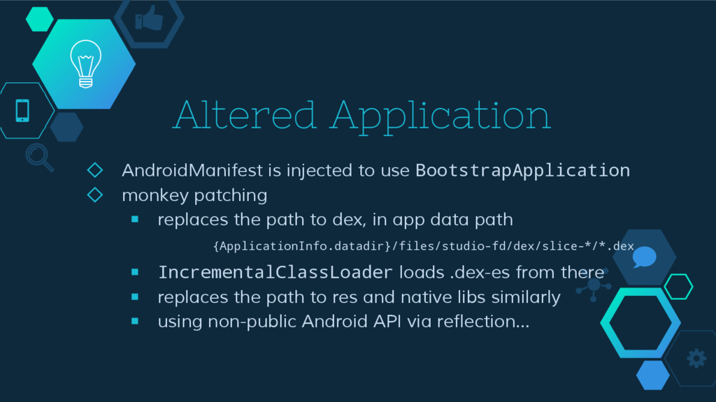 Altered Application ◇ AndroidManifest is inject...