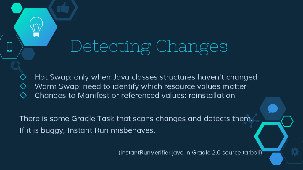 Detecting Changes ◇ Hot Swap: only when Java cl...