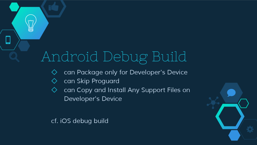 Android Debug Build ◇ can Package only for Deve...