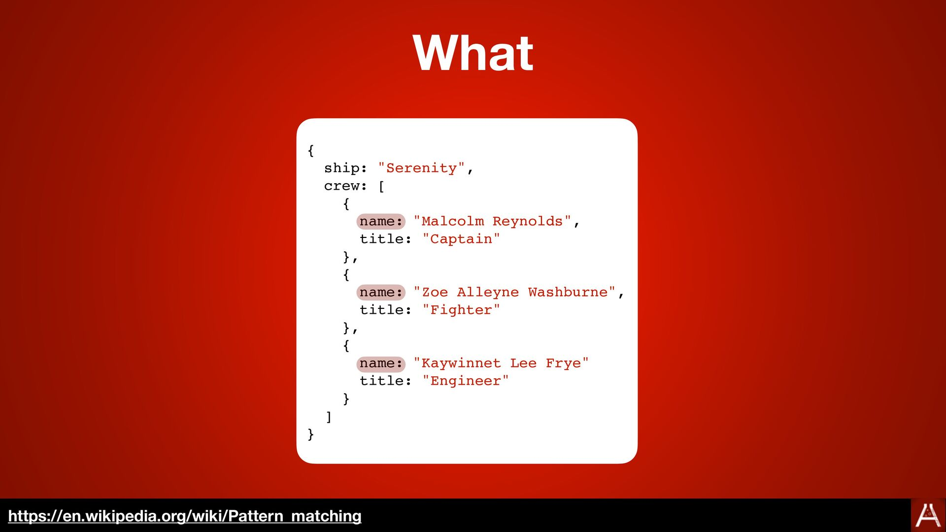 Invalid Syntax case <expression> in <pattern1> ...