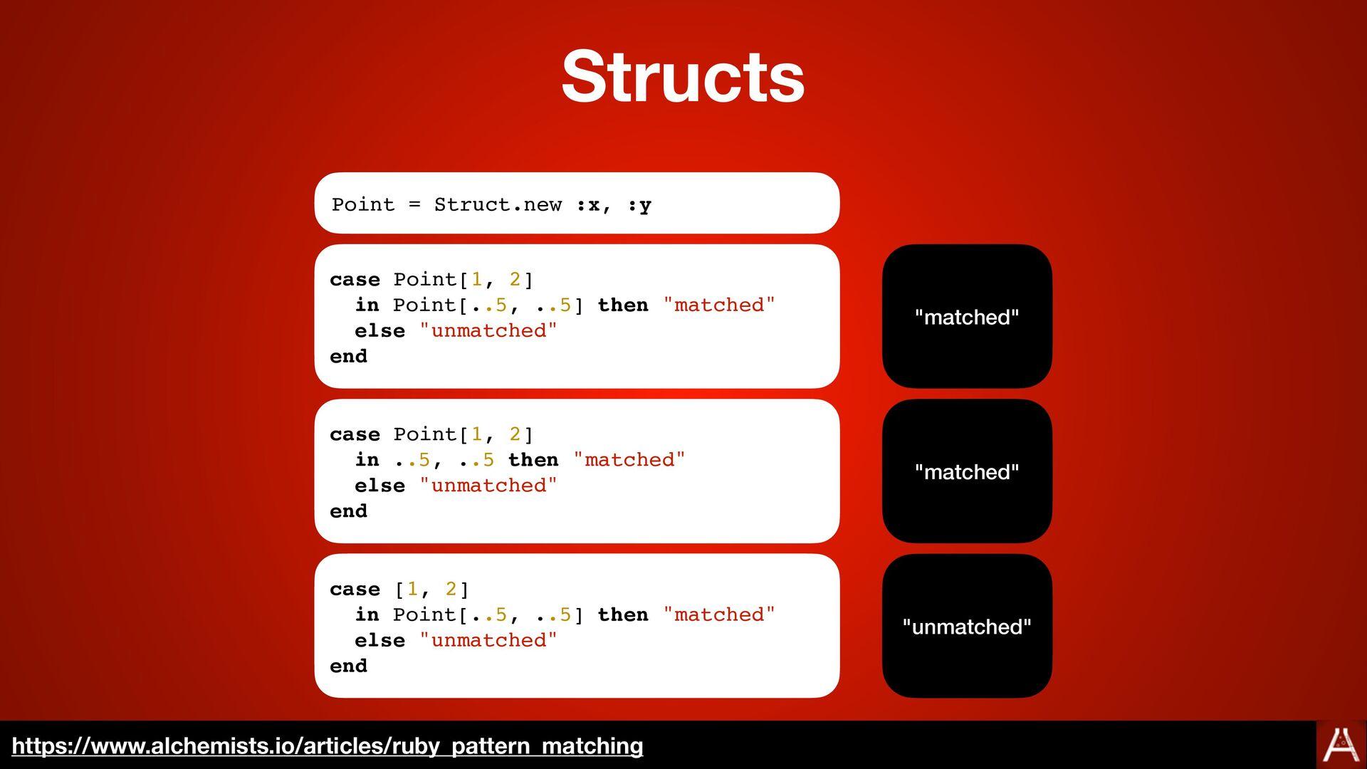 Examples https://www.alchemists.io