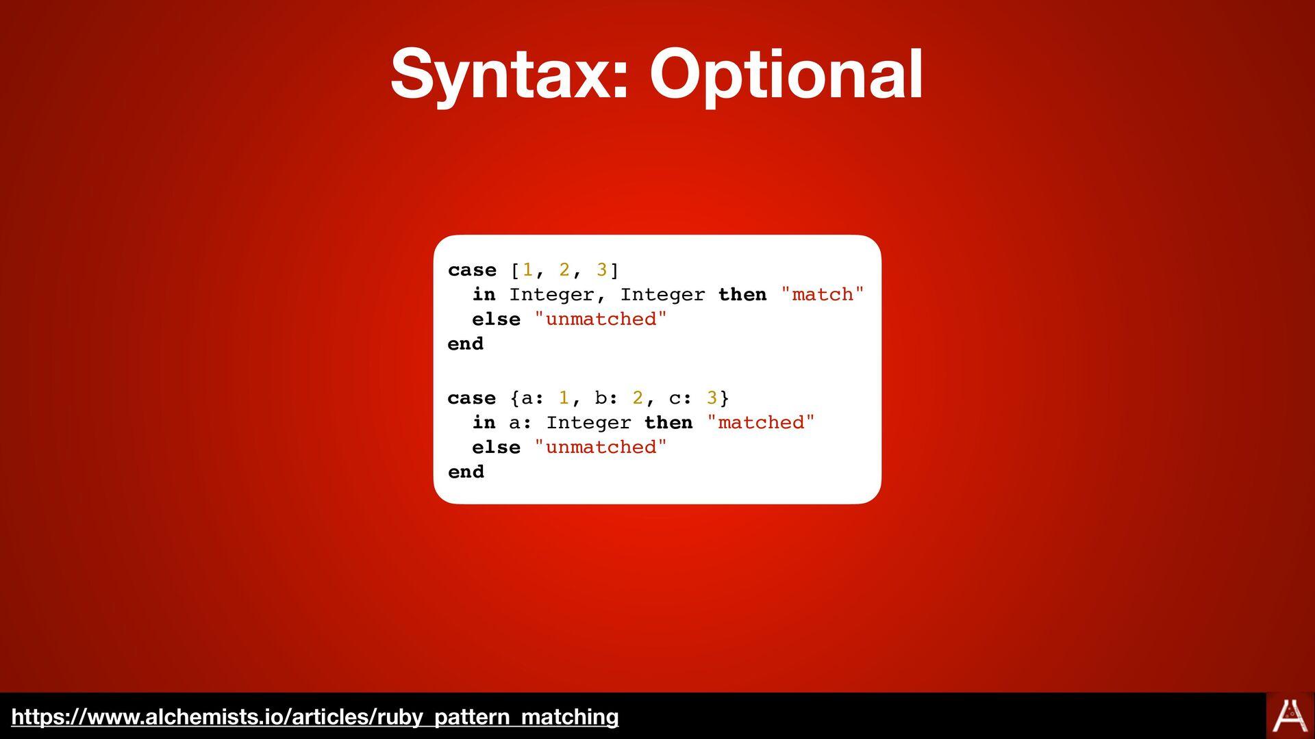 Syntax: Optional https://docs.ruby-lang.org/en/...