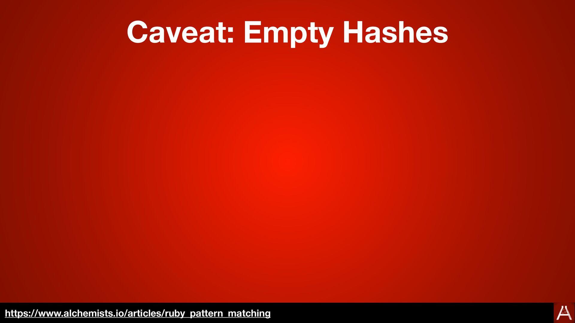 "case [1, 2, 3 ]  in Integer, Integer then ""matc..."