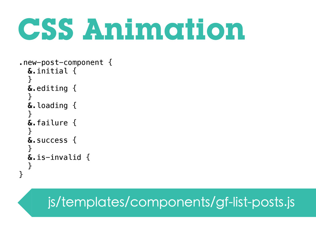 CSS Animation js/templates/components/gf-list-p...