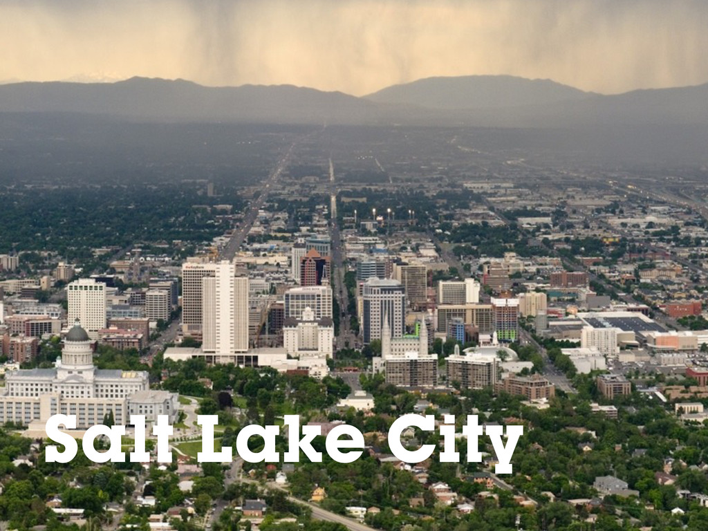 Salt Lake City Salt Lake City