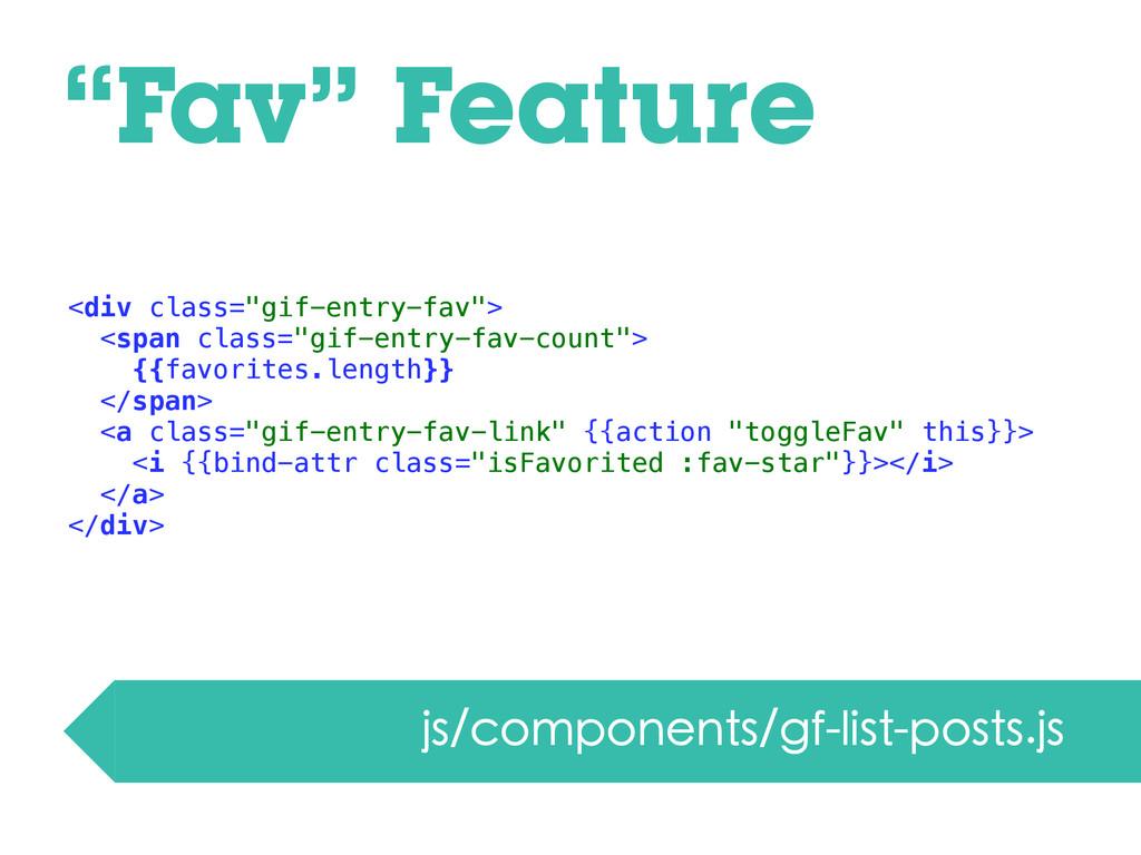 """""""Fav"""" Feature js/components/gf-list-posts.js <d..."""