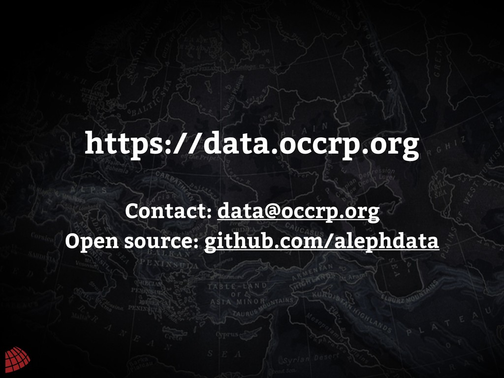 https://data.occrp.org Contact: data@occrp.org ...