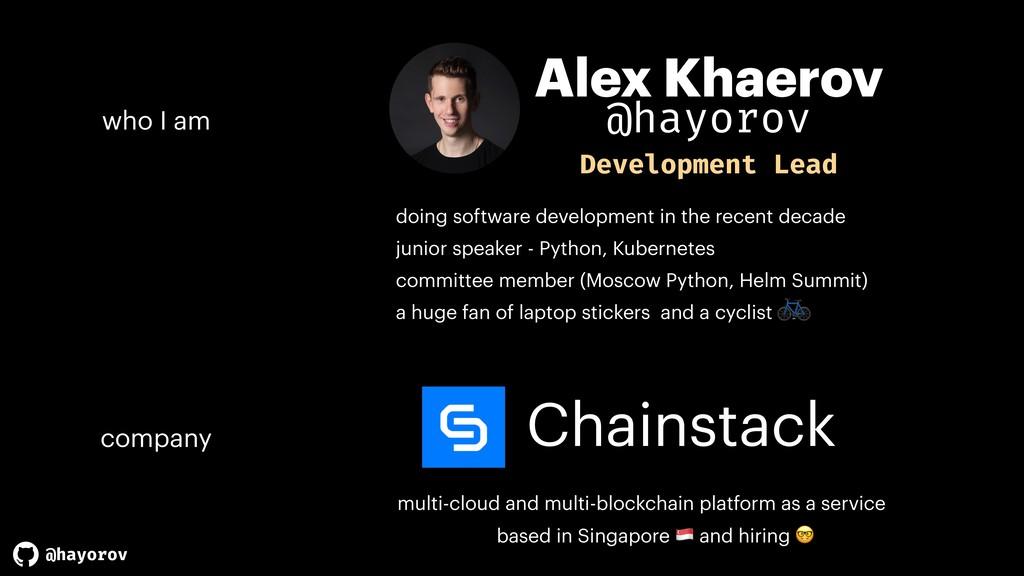 @hayorov Chainstack multi-cloud and multi-block...