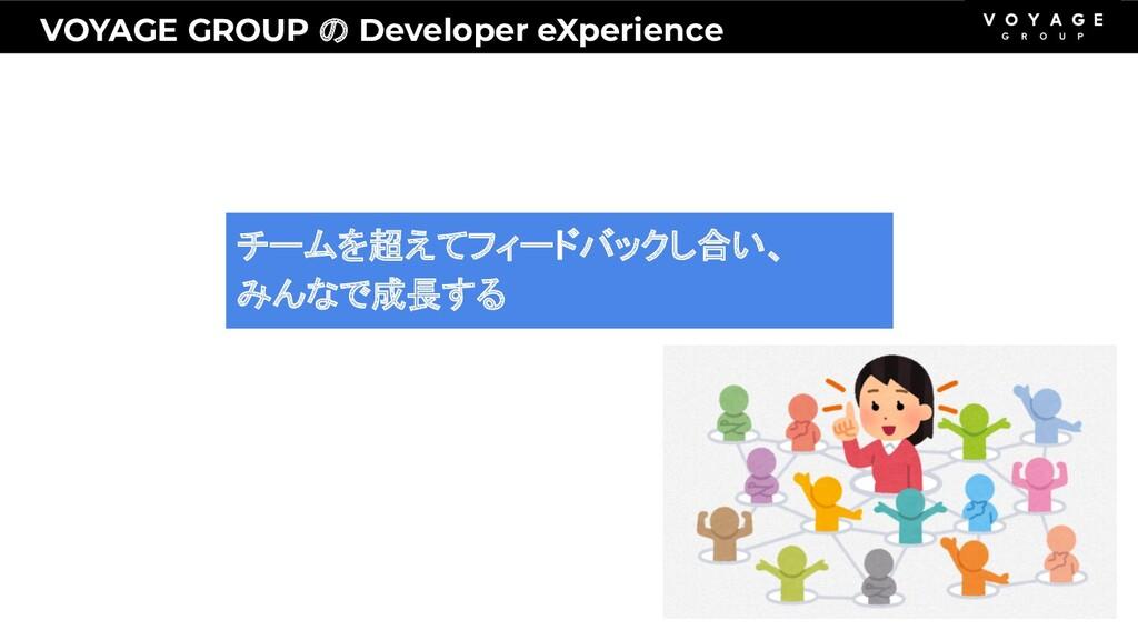 VOYAGE GROUP の Developer eXperience チームを超えてフィード...