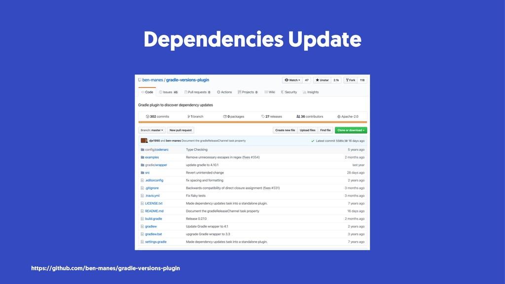 Dependencies Update https://github.com/ben-mane...