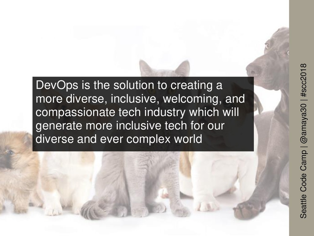 DevOps is the solution to creating a more diver...