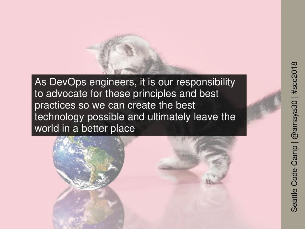 As DevOps engineers, it is our responsibility t...
