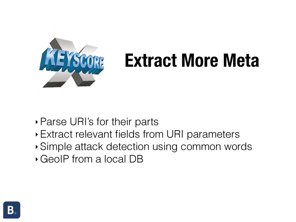 Extract More Meta ‣ Parse URI's for their parts...