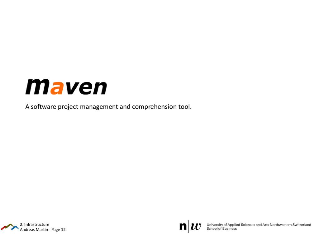 Andreas Martin - Page 12 Maven A software proje...
