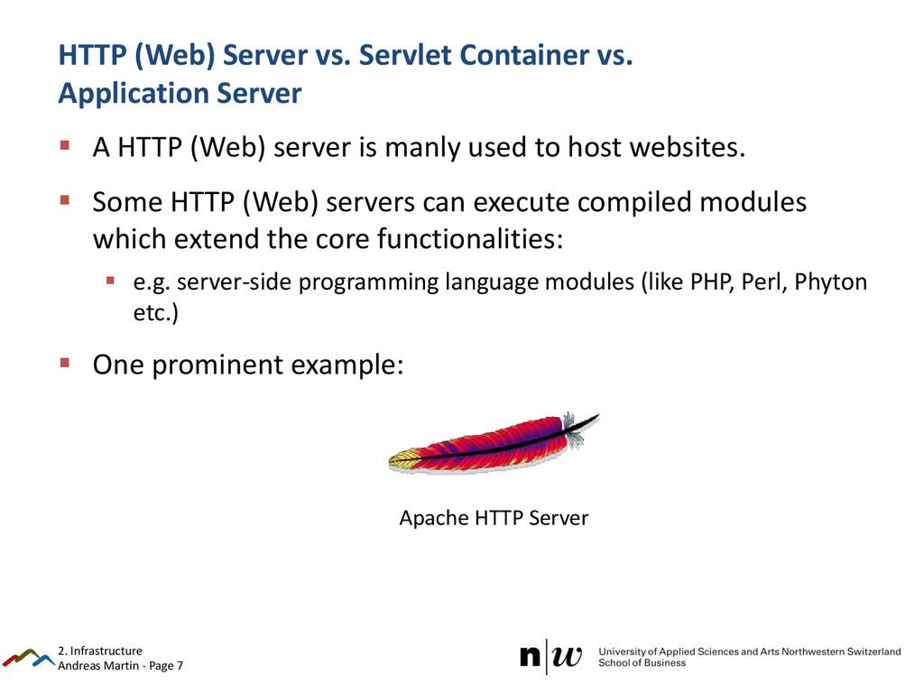 Andreas Martin - Page 7 HTTP (Web) Server vs. S...