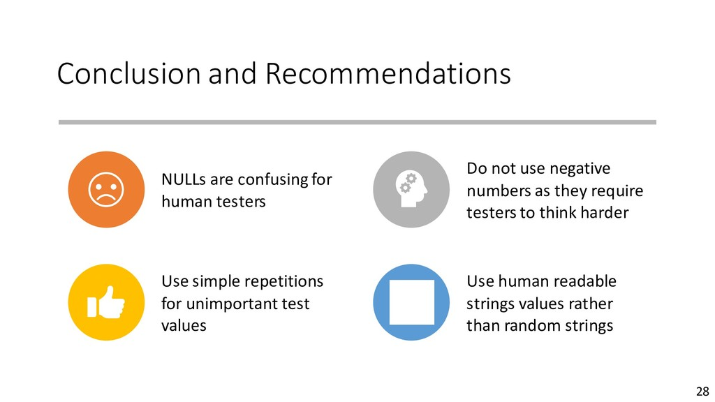 Conclusion and Recommendations NULLs are confus...