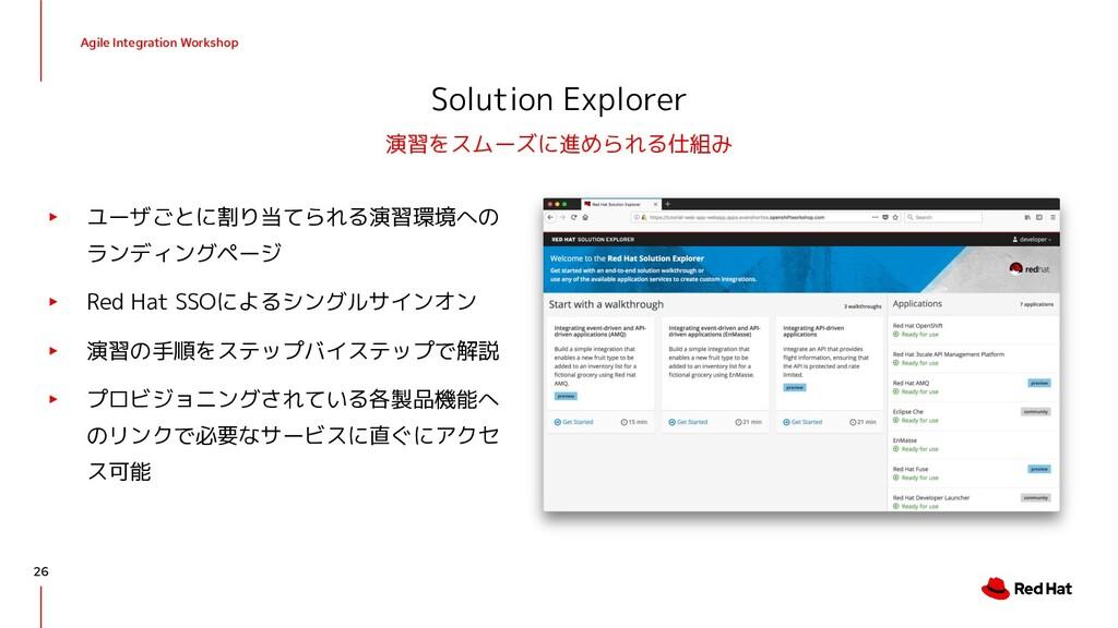 Agile Integration Workshop Solution Explorer ▸ ...