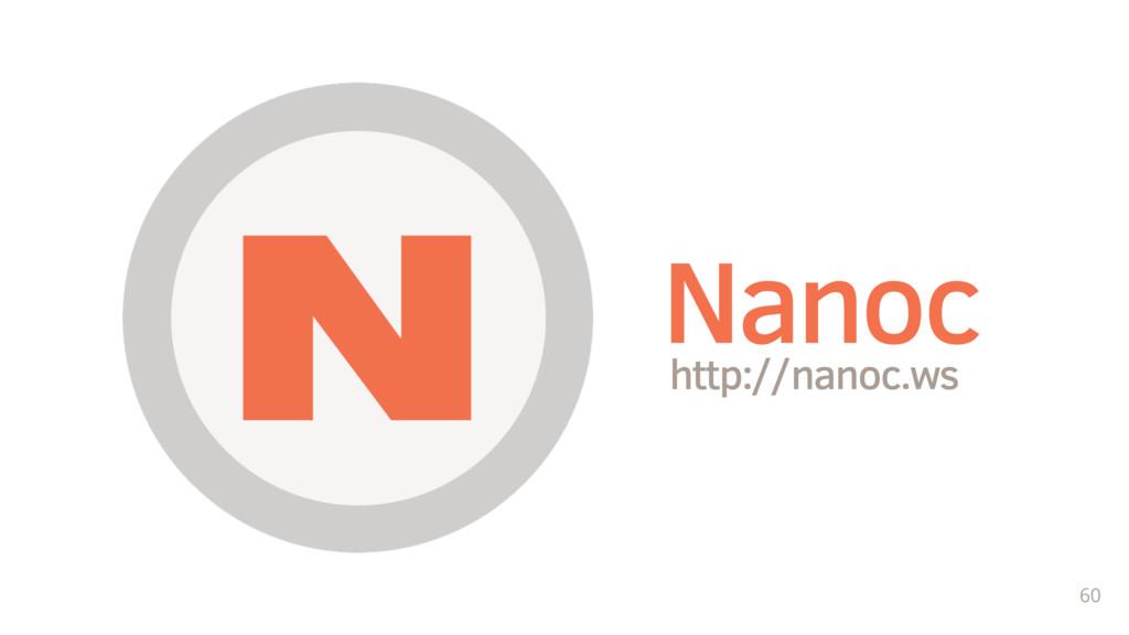 60 http://nanoc.ws Nanoc