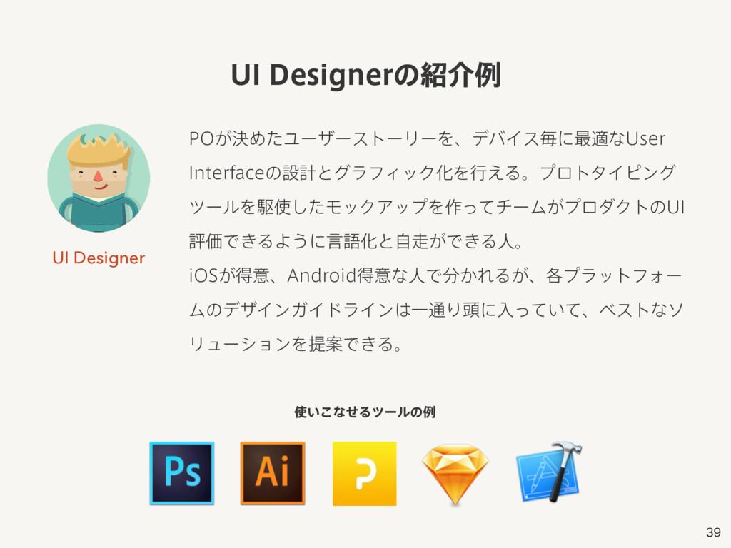 UI Designer 10͕ܾΊͨϢʔβʔετʔϦʔΛɺσόΠεຖʹ࠷దͳ6TFS ...