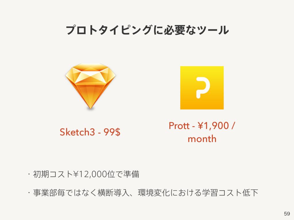 Sketch3 - 99$ Prott - ¥1,900 / month ɾॳظίετ=...