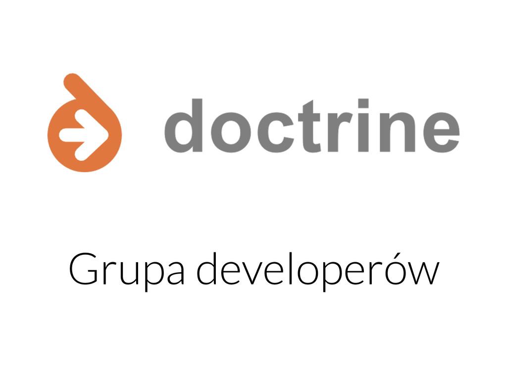 Grupa developerów