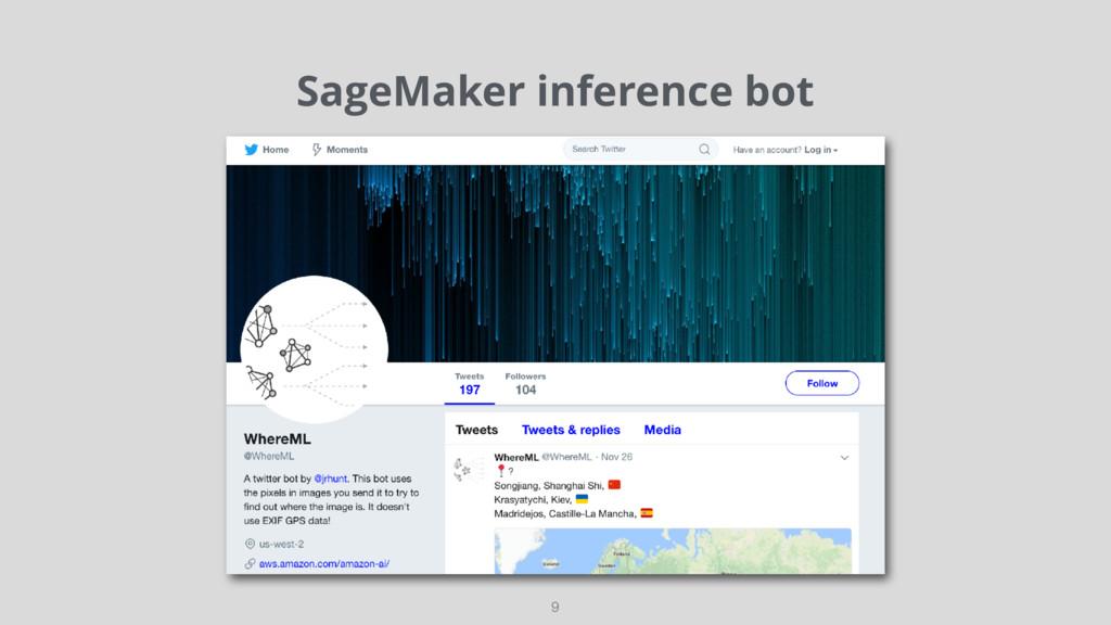 SageMaker inference bot 9